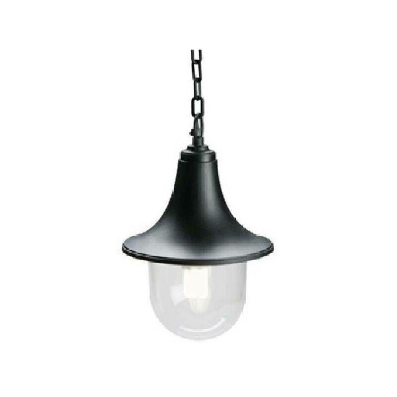SOSPENSIONE LAMPARA LINEA MARINE 60W COLORE NERO 448/06 - Sovil
