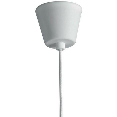 Sospensione Silicone Bianco Lampadario Moderno E27 Ambiente I-lennon/s1 -