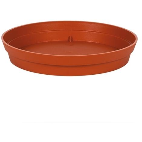 Soucoupe Ø15 cm pour pot de fleur Toscane Ø20 cm - Potiron