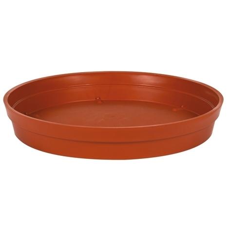 Soucoupe Ø18,5cm pour pot de fleur Toscane POP Ø25cm - Potiron