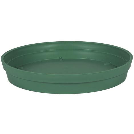 Soucoupe Ø 28 cm pour pot Ø 40 cm - Vert jungle