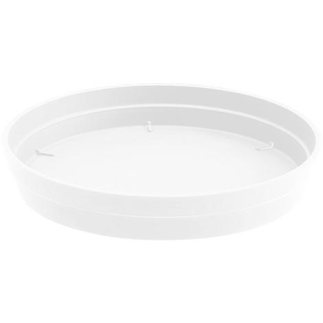 Soucoupe Ø40 pour pot de fleur Style Ø60 - Blanc