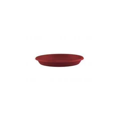 SOUCOUPE RONDE 40CM ROUGE FONCÉ