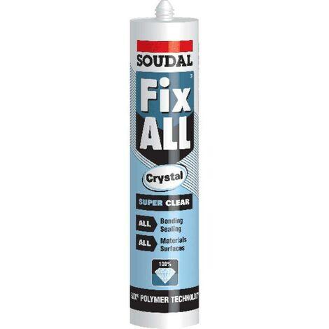 "main image of ""Soudal Fix All Crystal Clear Sealant Glue"""