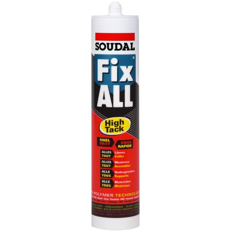 Soudal Fix All High Tack MS-polymère Noir 290