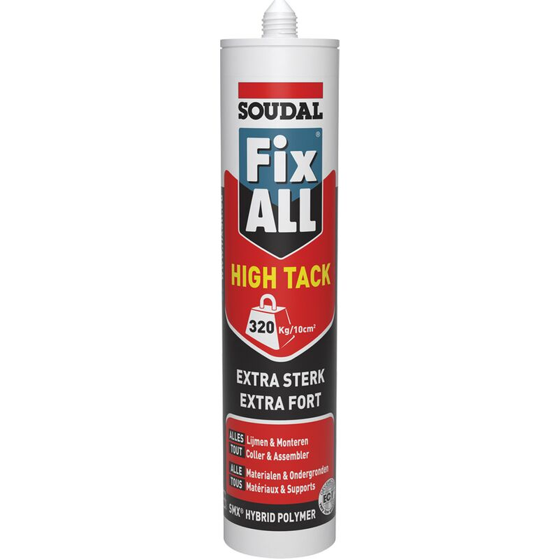 Colle 'Fix All High 'Tack' alu brun 290ml - Soudal