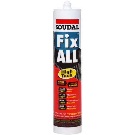 Soudal MS-polymère Fix All High Tack Brun 290 ml