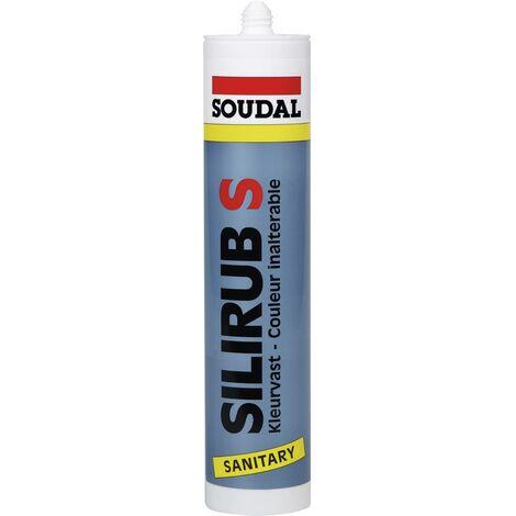 Soudal Silirub S Silikon Herstellerfarbe Grau 9534 310ml V739461