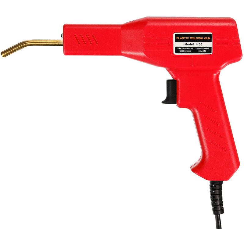 Manta - Soudeur Outils de Garage Agrafeuses à chaud Machine de réparation de pare-chocs de voiture en plastique PVC avec 200 pièces Agrafes Boite de
