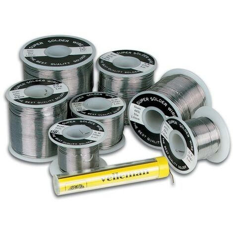 SOUDURE SANS PLOMB Sn 99.3Pct - Cu 0.7Pct AVEC BOBINE 1.0mm 15g (RI3239)