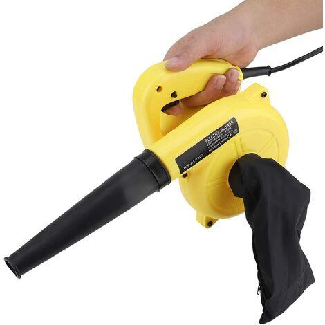 Souffleur à air électrique Multifonctionnel 600W Pistolet à air comprimé Ordinateur de Poche Voiture aspirateur de poussière Propre Outil Pratique pour Jardin Fournitures 220 V