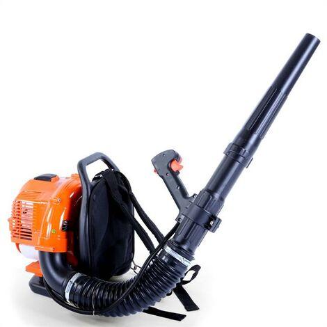 Souffleur à dos thermique FUXTEC FX-LB133T 33cm3 vitesse de soufflage 300 km/h