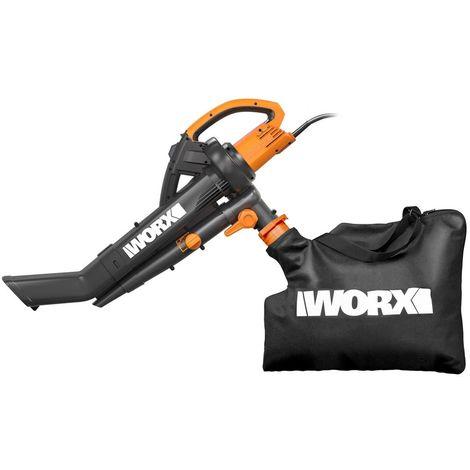 Souffleur Aspirateur électrique WORX WG505E