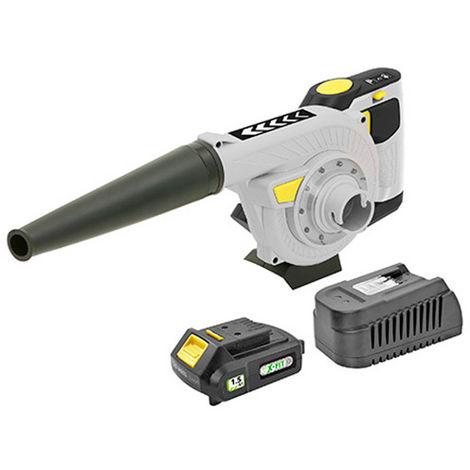 Souffleur-aspirateur sans fil KIT XF-BLOWER - 18 V 1,5 Ah avec chargeur