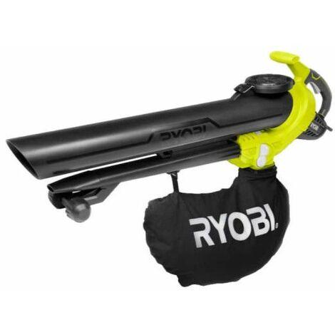 Souffleur aspiro-broyeur électrique RYOBI 3000W 3en1 RBV3000CESV