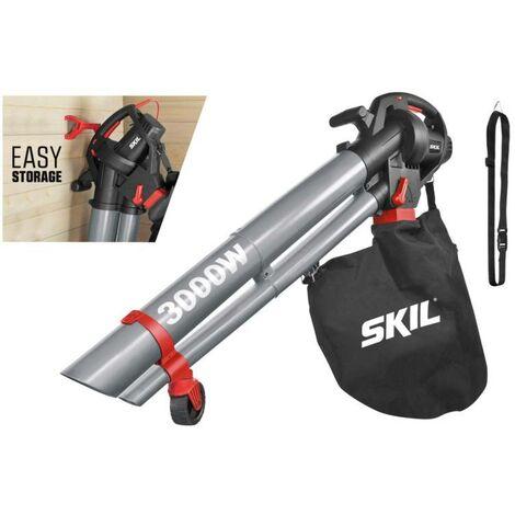 Souffleur, Broyeur, Aspirateur SKIL 0796 F0150796AA électrique sur roulettes, avec harnais 230 V 1 pc(s) D953651
