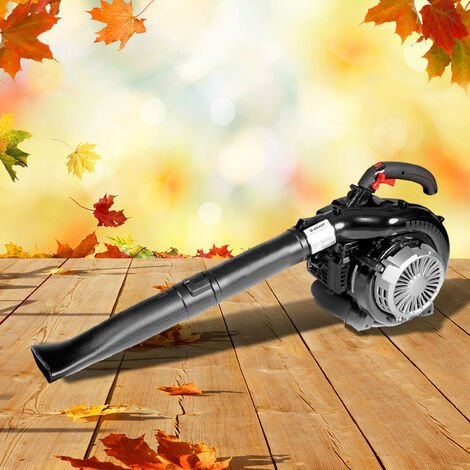 souffleur de feuille thermique aspirateur broyeur 1000W 30 cc fonction 3en1 ou 2en1