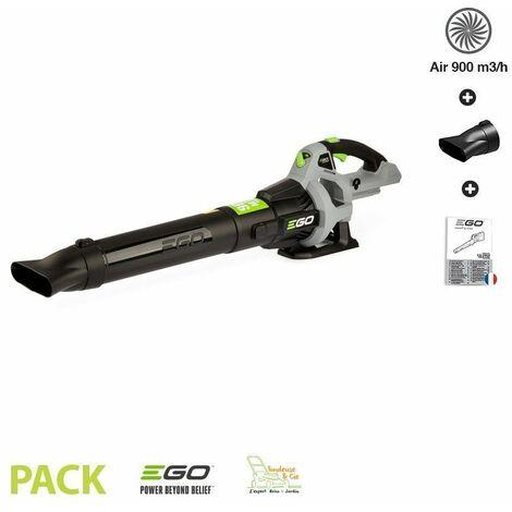 Souffleur feuilles batterie Ego Power LB5300E lithium 56V volume d air 900m3 - Gris