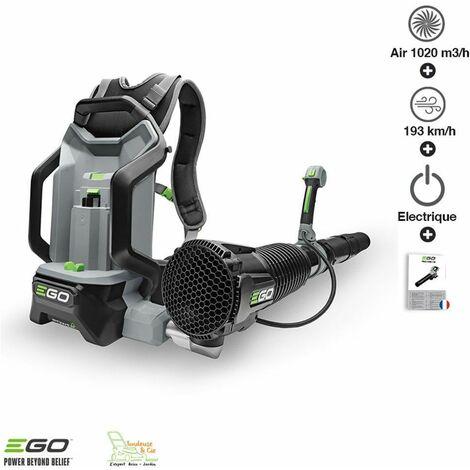 Souffleur professionnel à batterie dorsale Ego Power+ LB6000E - Gris