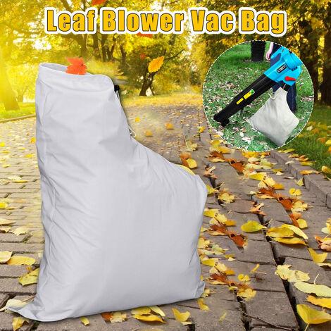 Souffleuse à feuilles de jardin Sac d'aspirateur Déchiqueteuse à gazon VAC Ouverture latérale pour modèles 2595 (Type à glissière)