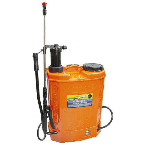 Soufre électrique A Batterie à double usage ou batterie manuelle et rechargeable 12 V / 8 ampères AFT 08052000