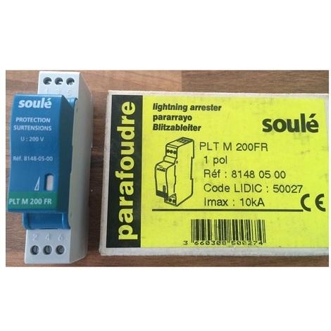 Soulé 8148-05-00 Paratonnerre PLT M 200FR 10kA - 1 pôle