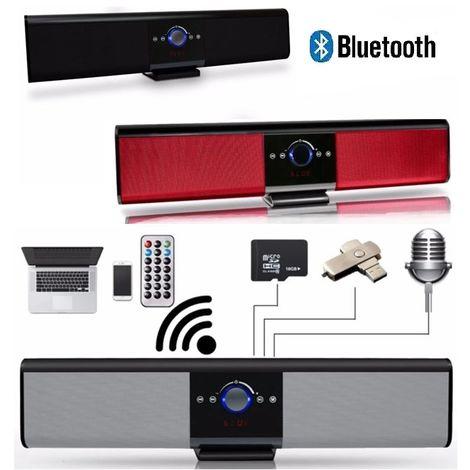 SOUNDBAR ALTOPARLANTE CASSA BLUETOOTH KARAOKE RADIO STEREO HIFI SUBWOOFER USB SD