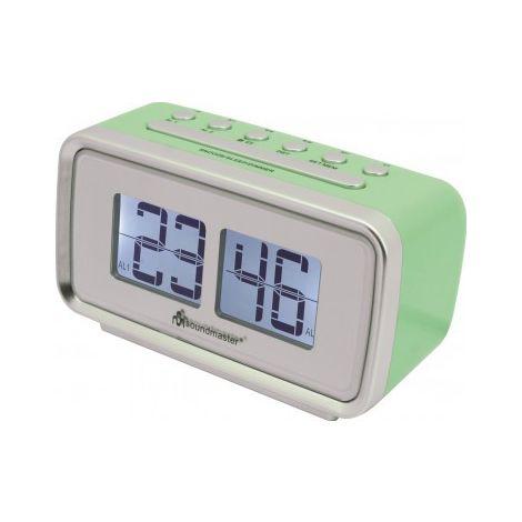 Soundmaster Uhrenradio UR105GR Wecken mit Radio oder Signalton