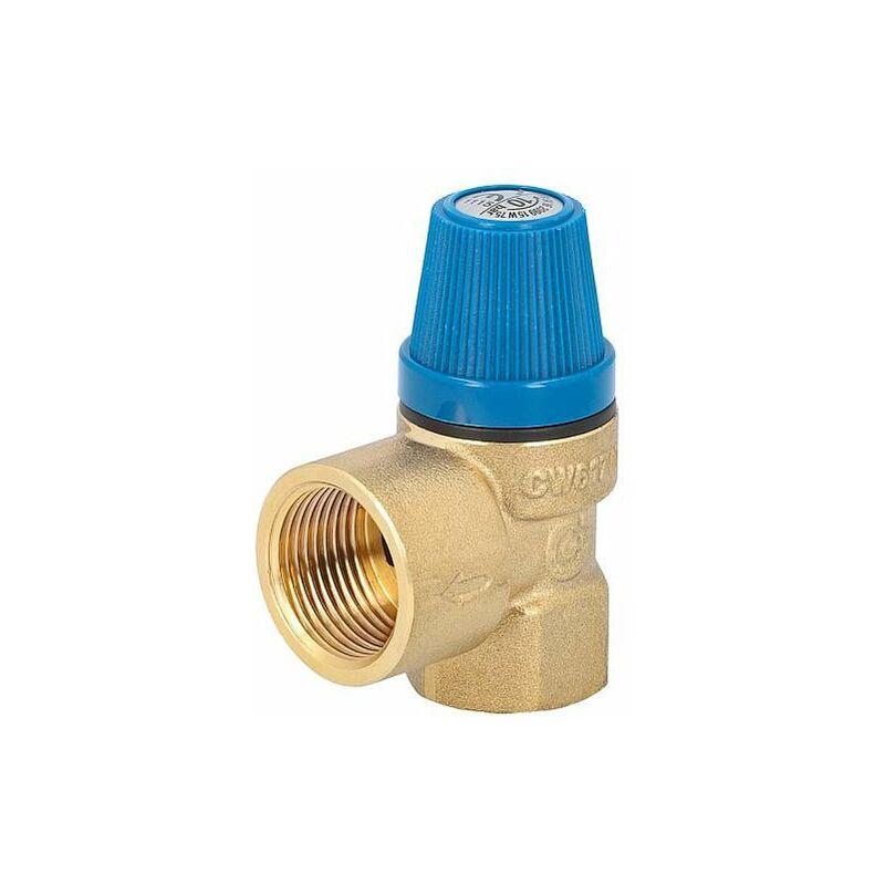 Caleffi Soupape de s/écurit/é /à membrane Caleffi 1//2x3//4 10bar 531410