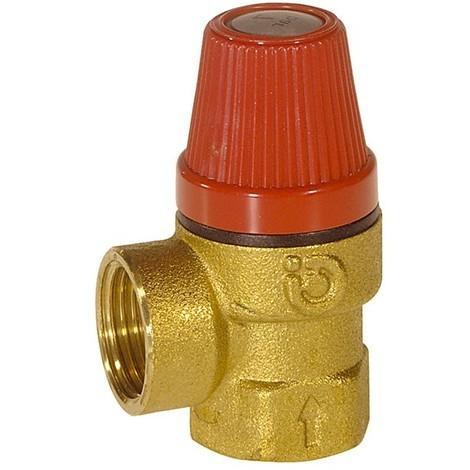 """main image of """"Soupape de sécurité sanitaire laiton 1/2'' de Caleffi"""""""