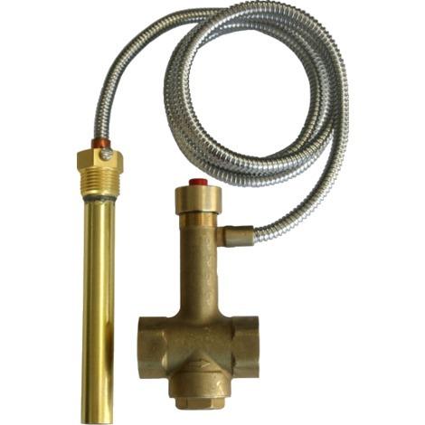 Soupape de sécurité thermique d'écoulement G3/4F , 97°C BVRS1.3