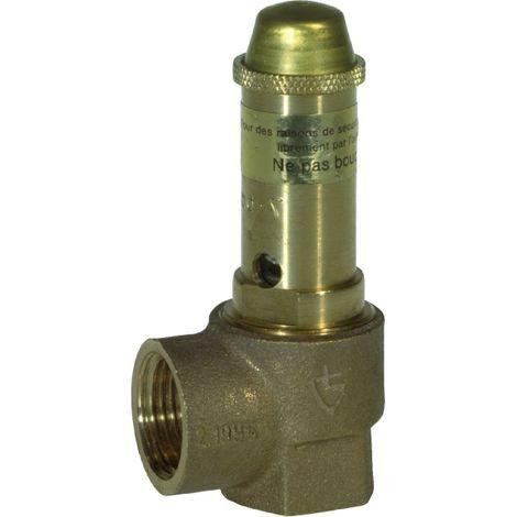 Soupape de sûreté à membrane Thermador