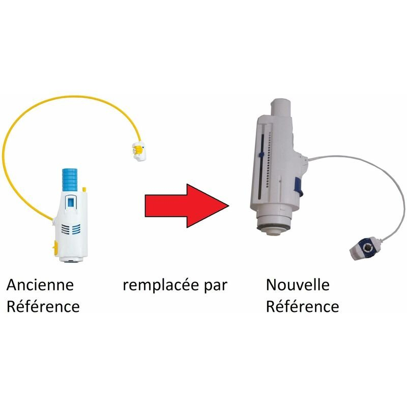 Soupape Sasnicoll 3v Câble Pour Bati Support