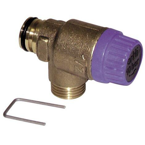 Soupape sécurité sanitaire - DIFF pour Saunier Duval : 05722900