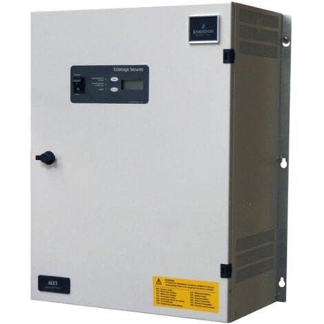 Source centrale 48VDC 100W, 1 heure , 8 départs