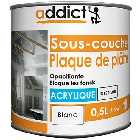Sous-couche acrylique opacifiante - Addict
