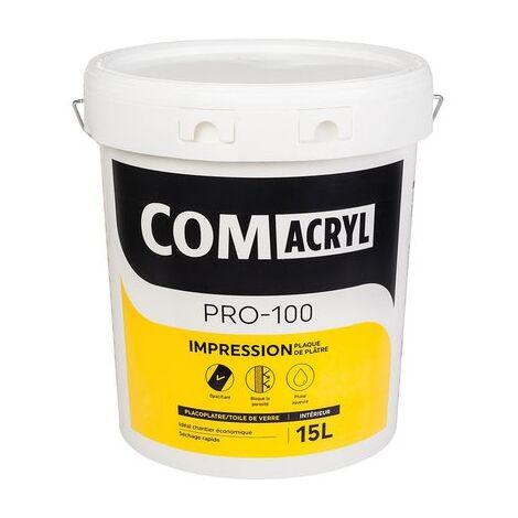 Sous-couche acrylique top rapport qualité/prix : Comus Comacryl Impression (15L)