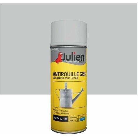 Sous-couche aérosol Antirouille Gris - 400 ml - Julien