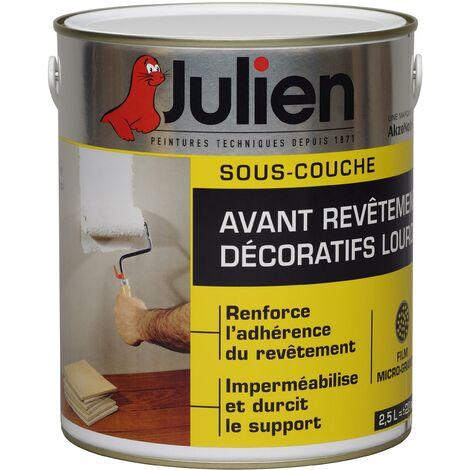 Sous-Couche Avant Revêtements Décoratifs Lourds Blanche - Julien