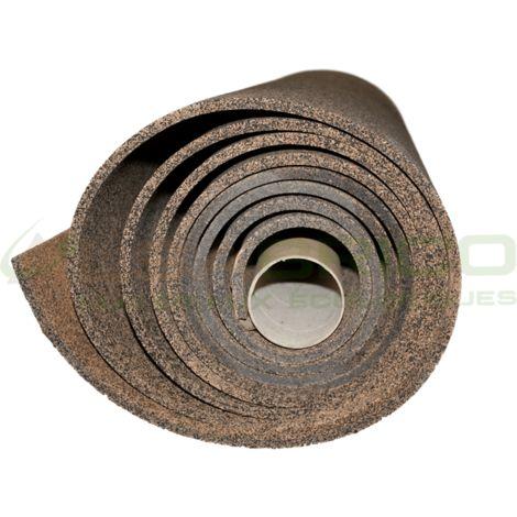 Sous-couche caoutchouc et liège en rouleau - 50% liège - 50% caou. épaisseur 10mm | 10mm - 5 m²