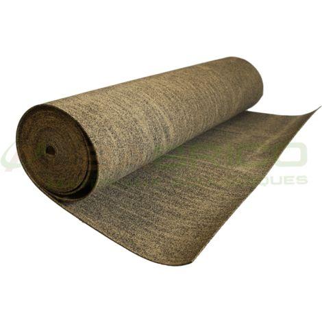 Sous-couche caoutchouc et liège en rouleau - 50% liège - 50% caou. épaisseur 4mm | 4mm - 10 m²