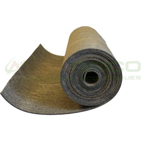 Sous-couche caoutchouc et liège en rouleau - 50% liège - 50% caou. épaisseur 6mm | 5m x 1m - 5 m²