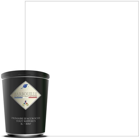 Sous-couche d'accroche haute adherance pour tout support difficile : Carrelages, Alu, PVC etc… - Couleur : Blanc - Titanium