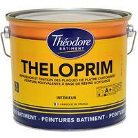 Sous-couche d'impression acrylique Ecolabel sur plaques de plâtres et dérivés : Theloprim