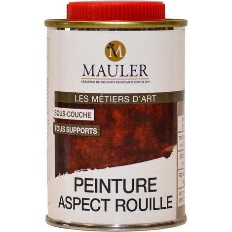 Sous-couche effet rouille Mauler 0,25L : pour imiter l'aspect rouille sur tous supports