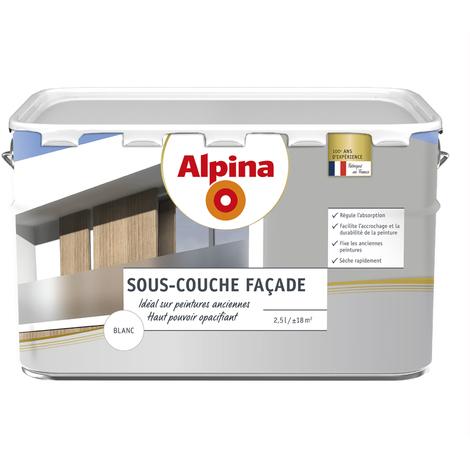 Sous-couche façade opacifiante 2,5L Blanc