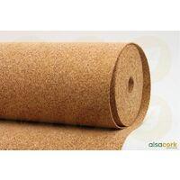 Sous-couche liège en rouleau, standard épaisseur 2mm | 10m x 1m - 10 m²
