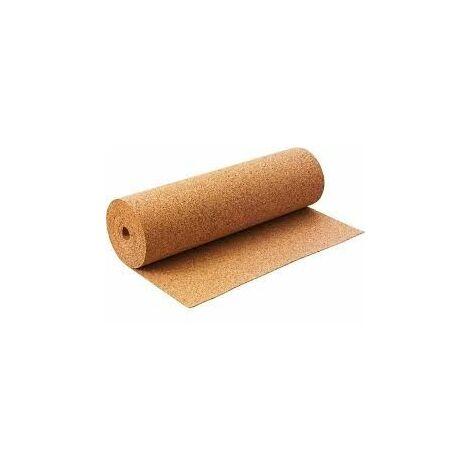 Sous-couche liège en rouleau, standard épaisseur 4mm | 10m x 1m = 10m²
