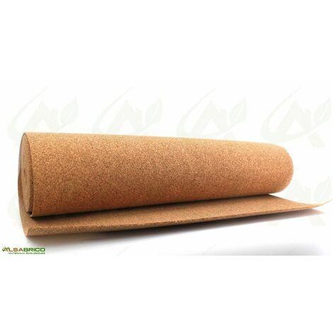 Sous-couche liège en rouleau, standard épaisseur 4mm | 1m x 15m = 15m²
