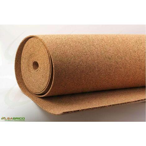 Sous-couche liège en rouleau, standard épaisseur 6mm | 6mm - 10 m²